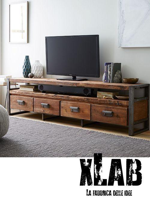 Risultati immagini per disposizione mobili soggiorno | Mobile tv ...