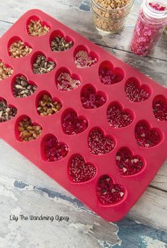 Gourmet Candy Hearts - Made At Home - Makes A Great Gift! — Lily The Wandering Gypsy