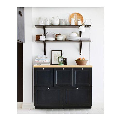 Laxarby Door Black Brown 40x80 Cm Solid Wood Doors And Woods
