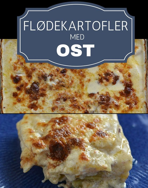 Lækre cremede flødekartofler med masser af dejlig smeltet ost. Og så er de tilmed rigtig nemme at lave.
