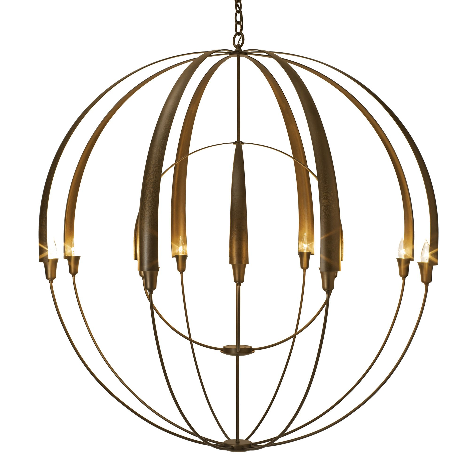 Double Cirque Large Scale Chandelier By Hubbardton Forge 194248