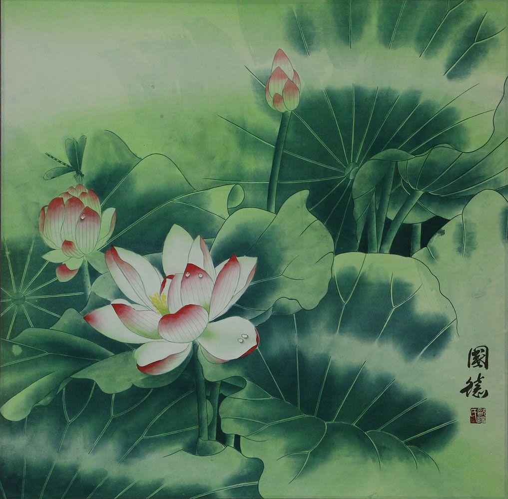 Chinese lotus flowers chinese lotus flower painting subjects chinese lotus flowers chinese lotus flower izmirmasajfo