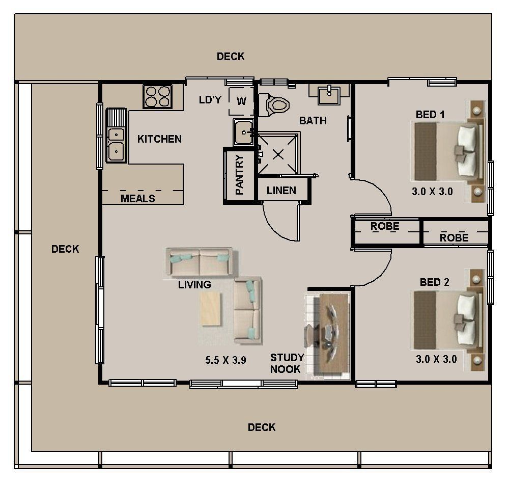 Granny pods for sale grannypods House Plan For Sale 2