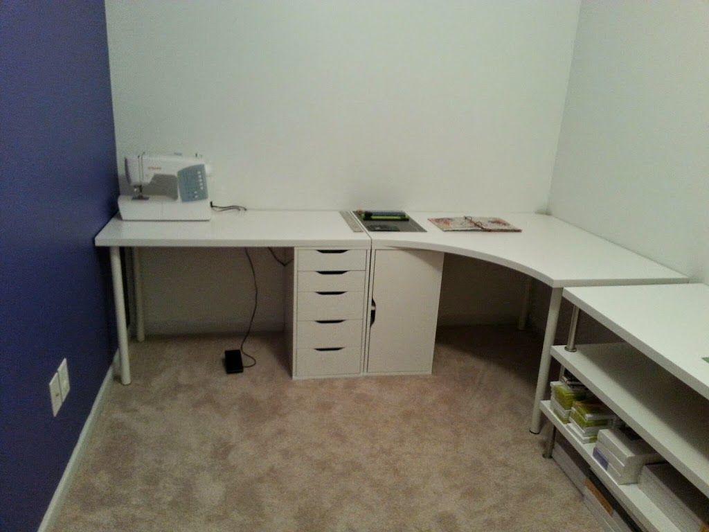 ikea corner desk linnmon new art studio 1 024 768 pixels computer center pinterest. Black Bedroom Furniture Sets. Home Design Ideas