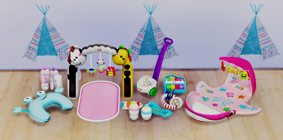 Lana Cc Finds Baby Decor Mini Outfitters Ts4 Objects