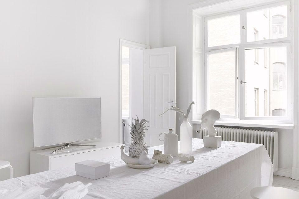 Verschillende wit soorten kleuren doe het zelf en interieur