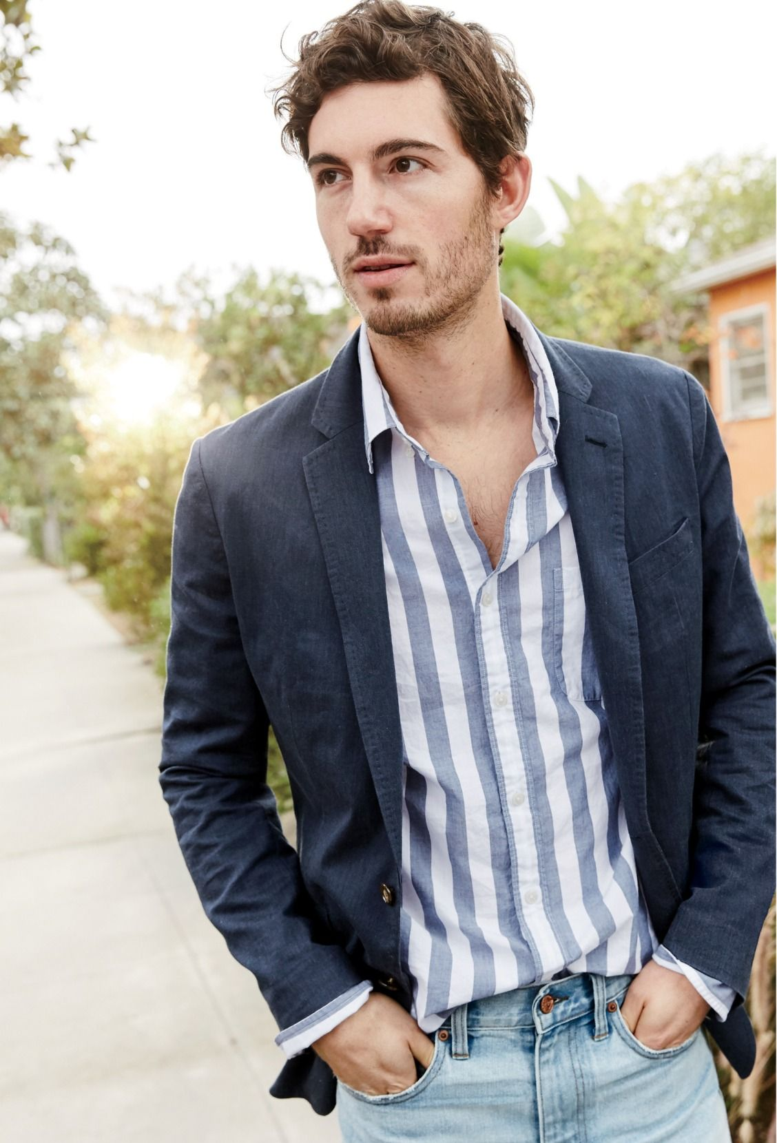 0b201878a Our J.Crew men's unstructured Ludlow blazer. Made of super ...