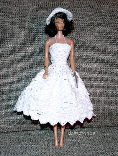 The page contains several crochet patterns for your fashion doll ...