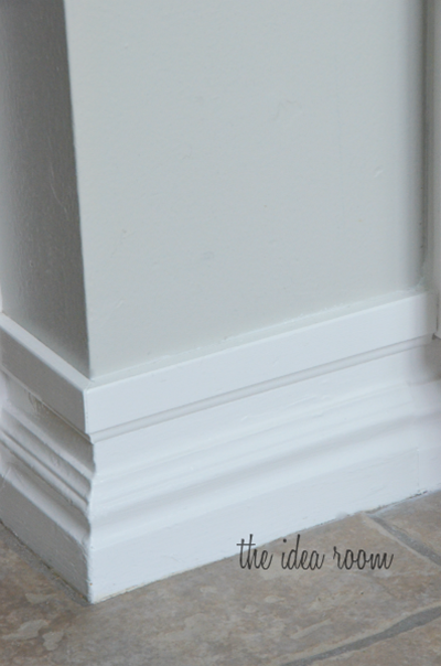 how to take your baseboards from small to tall | DIY home