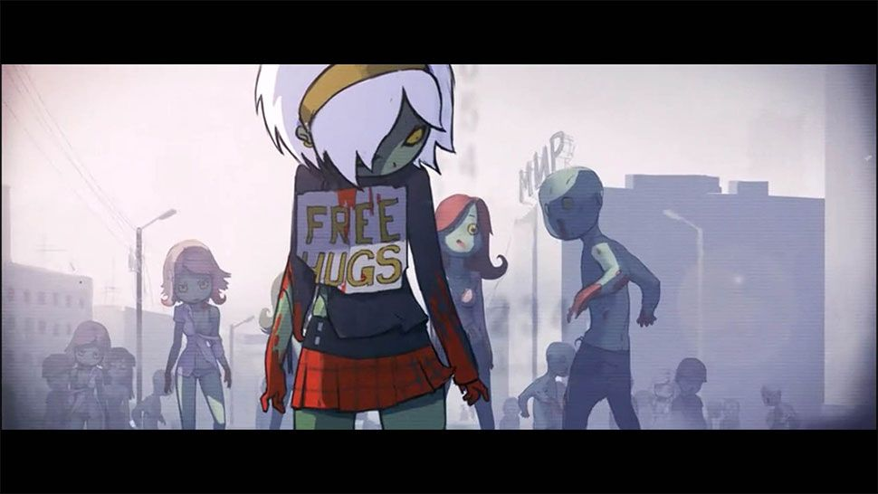 Tell Me More About Zombie Free Hug Girl Dead Ahead Character Design Free Hugs Zombie Girl