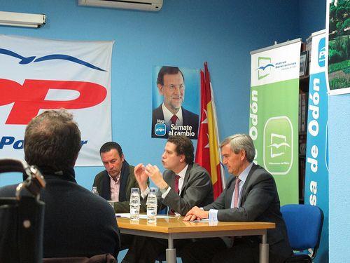 Encuentro con afiliados del PP en Villaviciosa de Odón