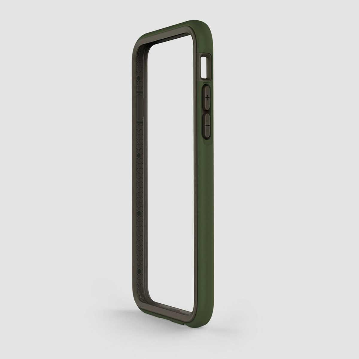 RhinoShield Crash Guard Impact Bumper for iPhone 6 (Includes bumper, and back screen protector)