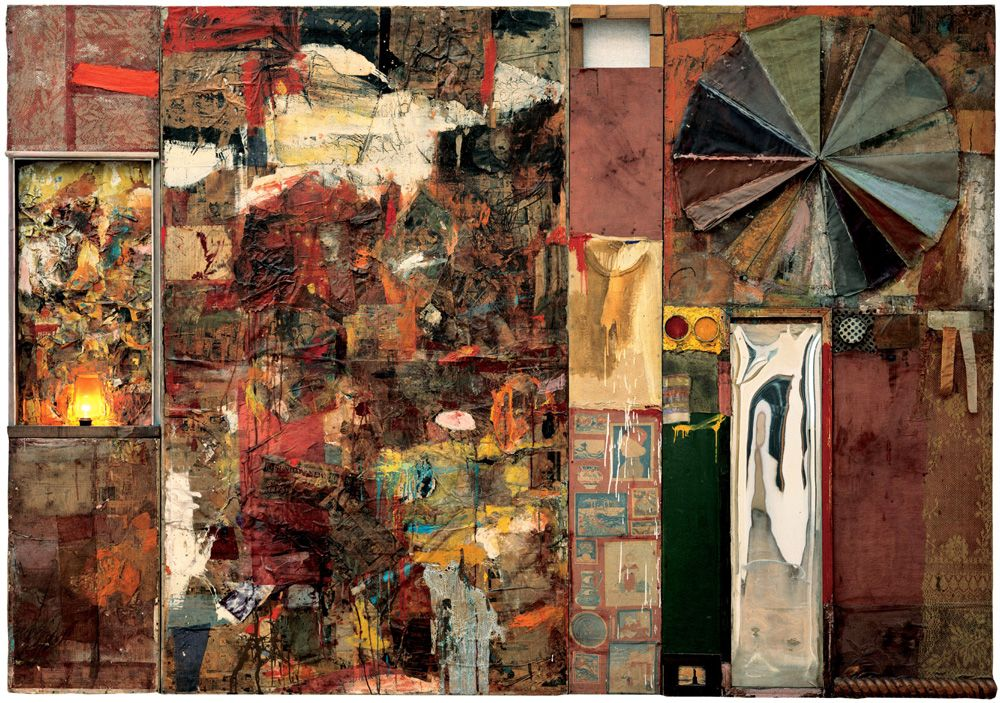 Image result for robert rauschenberg artist