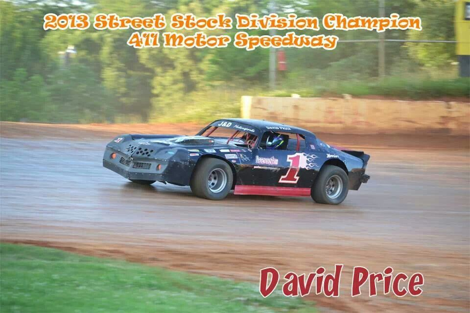 David Price David price, Dirt track racing, Street stock