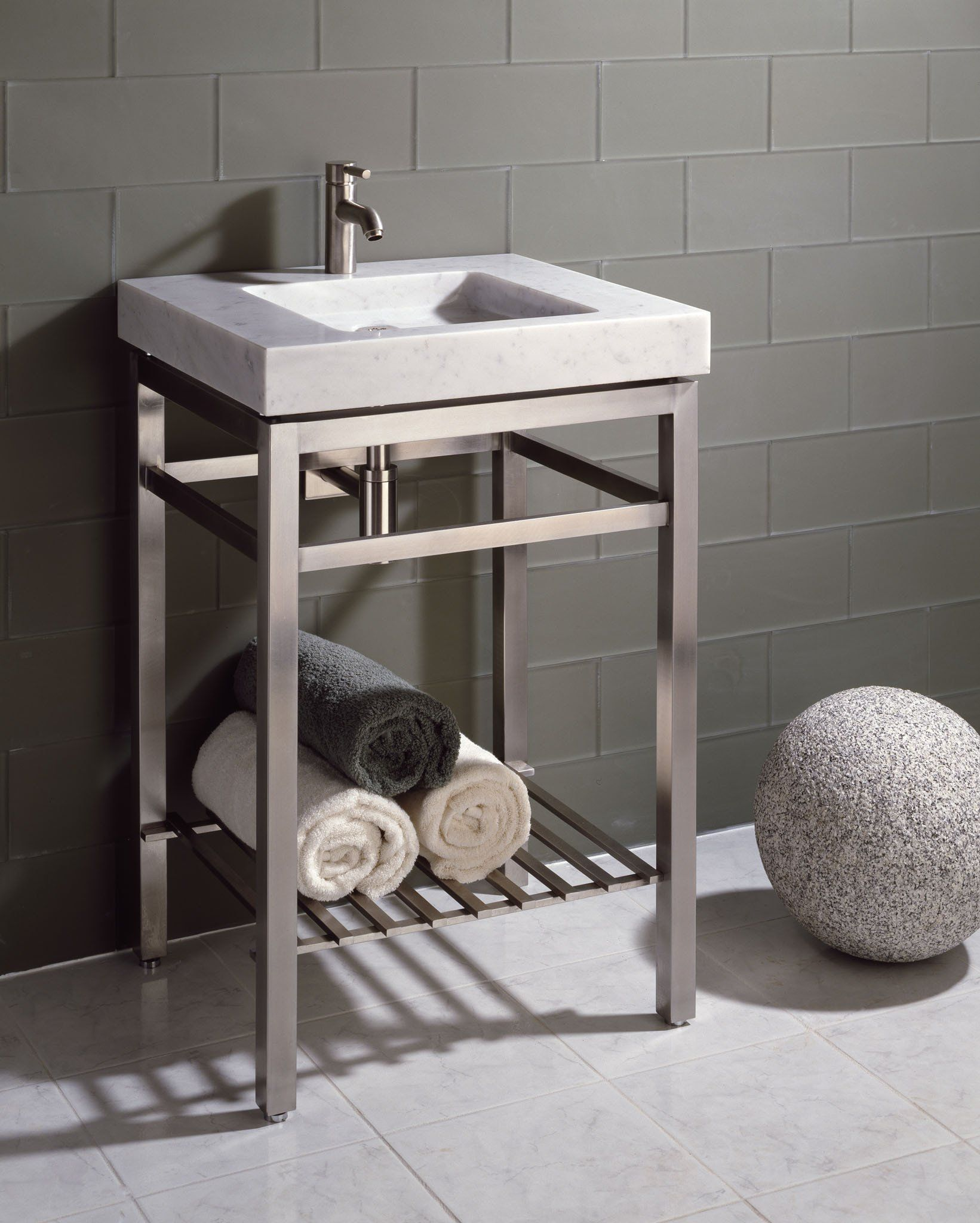 Bathroom Vanity, Metal Bathroom Vanities