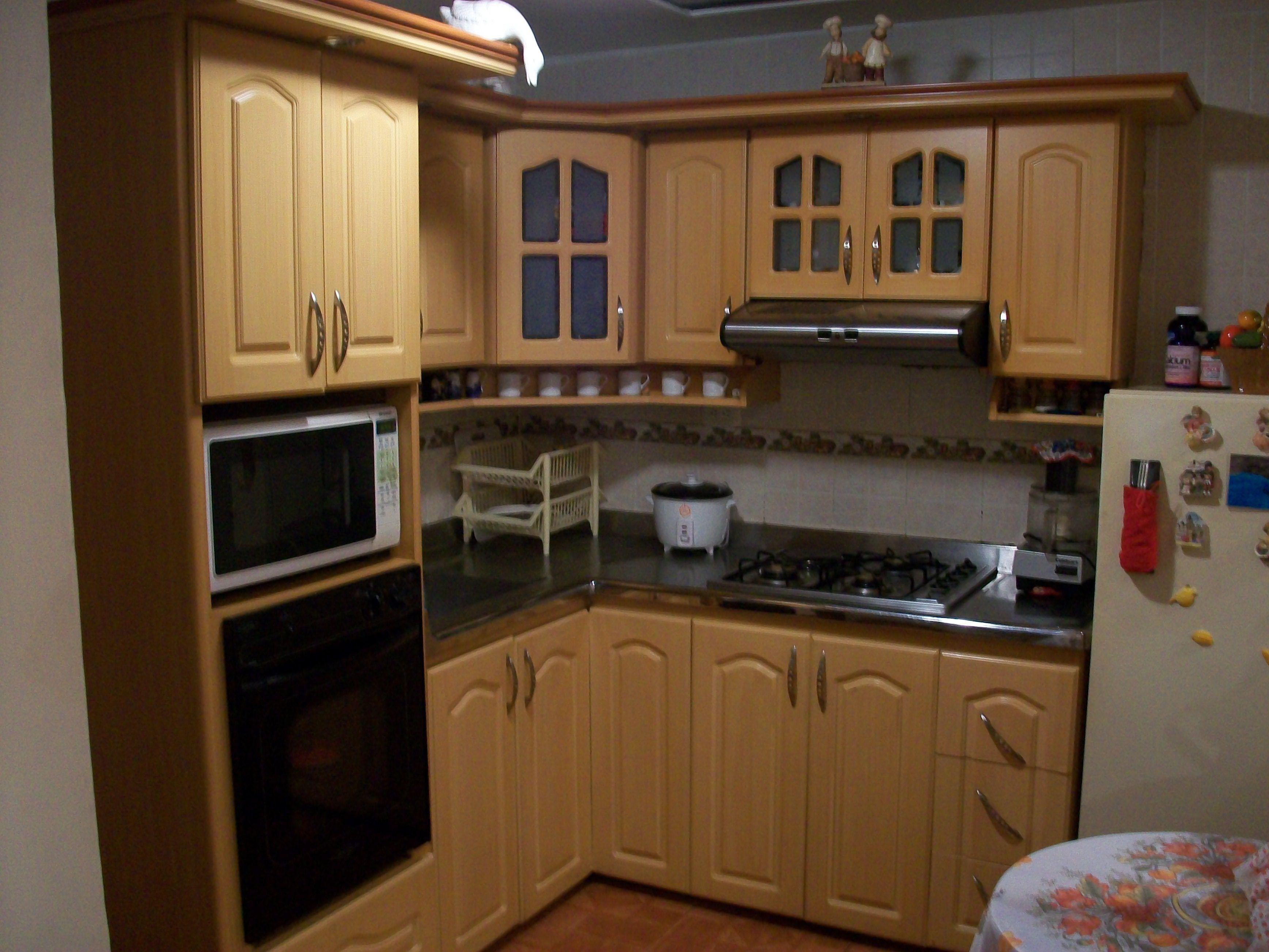 Fabricado por c g arte y decoraci n cocina integral for Altura meson cocina