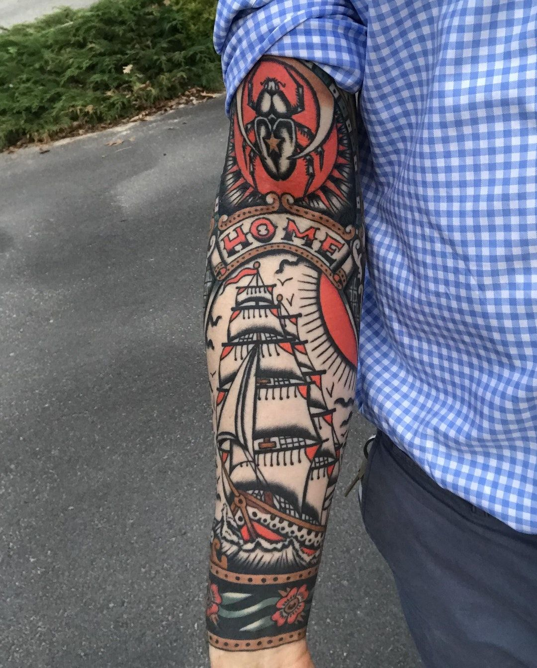 Reddit The Front Page Of The Internet Traditional Tattoo Sleeve