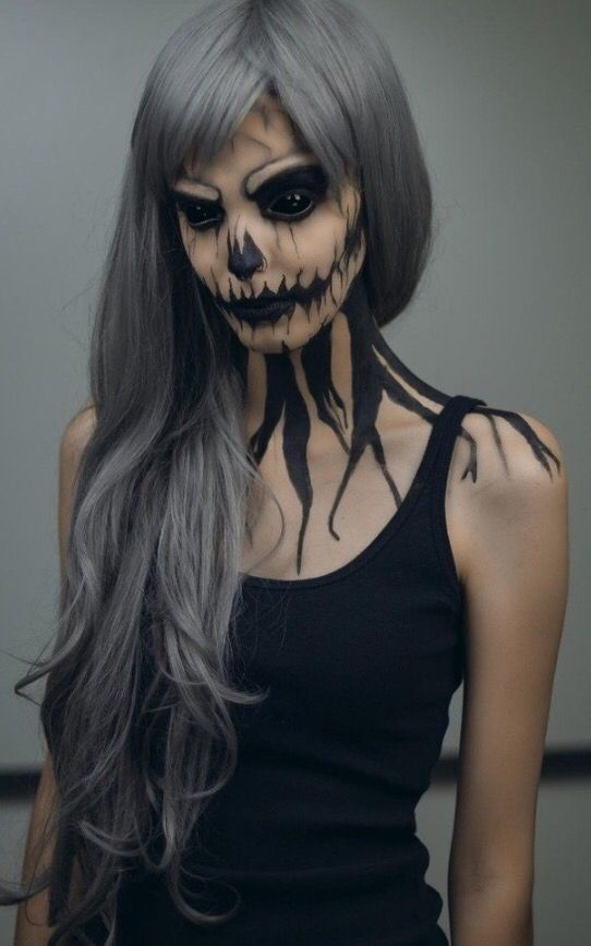 33 Halloween Costume Ideas That You\u0027ll Wish You\u0027d Thought Of First - halloween horror makeup ideas