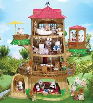 Calico Critters Tree House To Die For Sylvanianfamilies