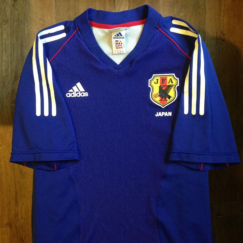 2002 Korea Japan Fifa World Cup Japan Home Jersey Vintage Shirts Japan Jersey