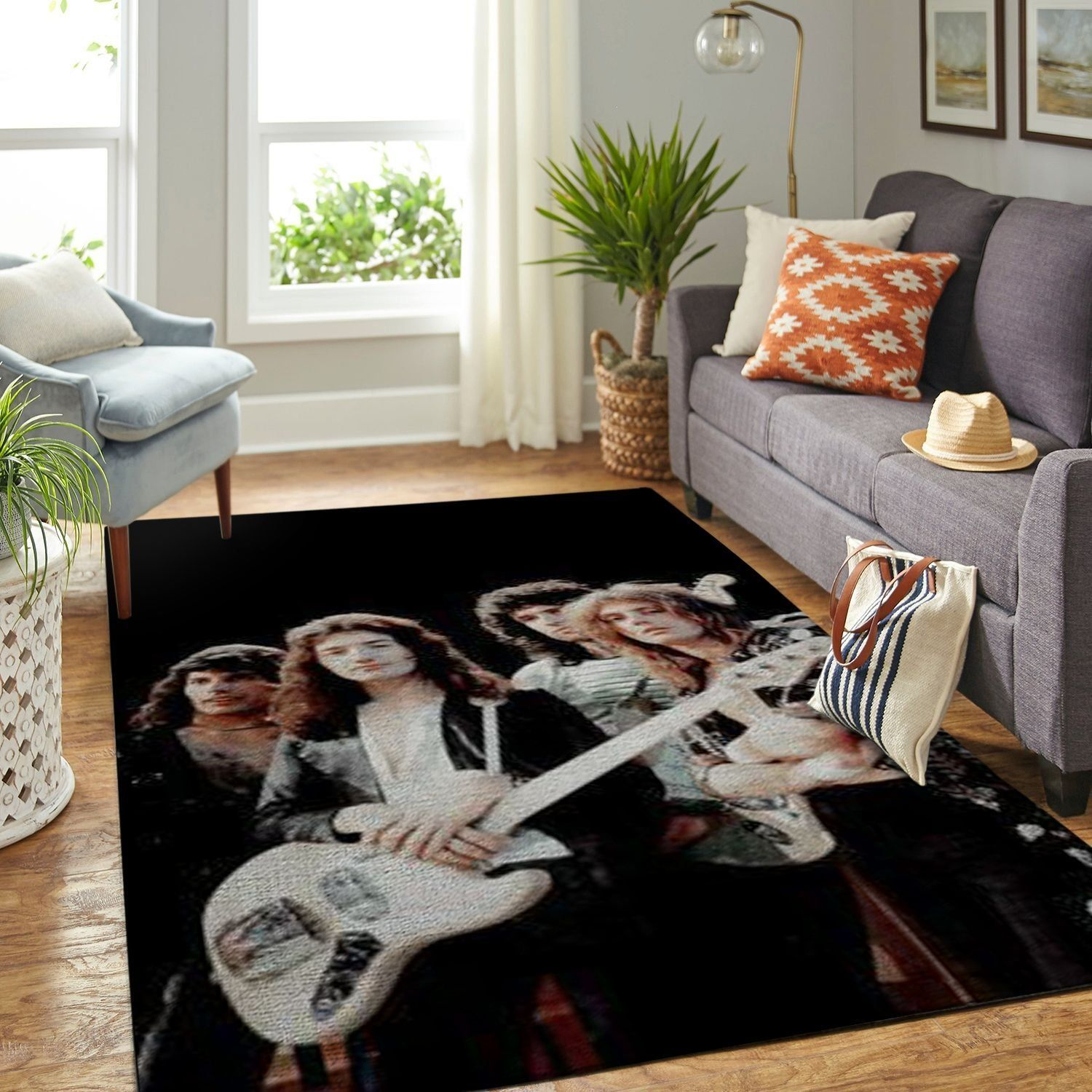 Amazon Queen Band Legend Living Room Area No6488 Rug Amazon Queen House Warming Gifts Queen Band The living room band