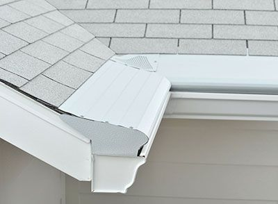 How Much Do New Rain Gutters And Gutter Guards Cost Harryhelmet Gutter Guard Gutter Rain Gutters