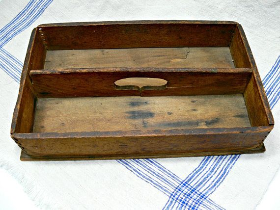Boxes/chests Vintage Cutlery Box Antique Furniture