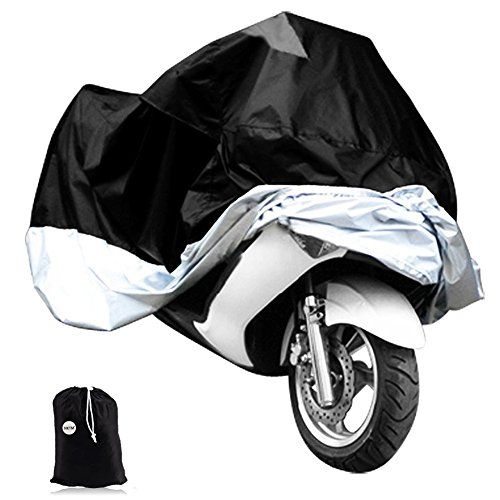 Nktm Motorcycle Cover Scooter Rain Cover Motorbike Waterproof Protector Fits Up To 97 In Harley Davison Honda Suzuk Motorcycle Cover Bike Cover Motorbike Cover