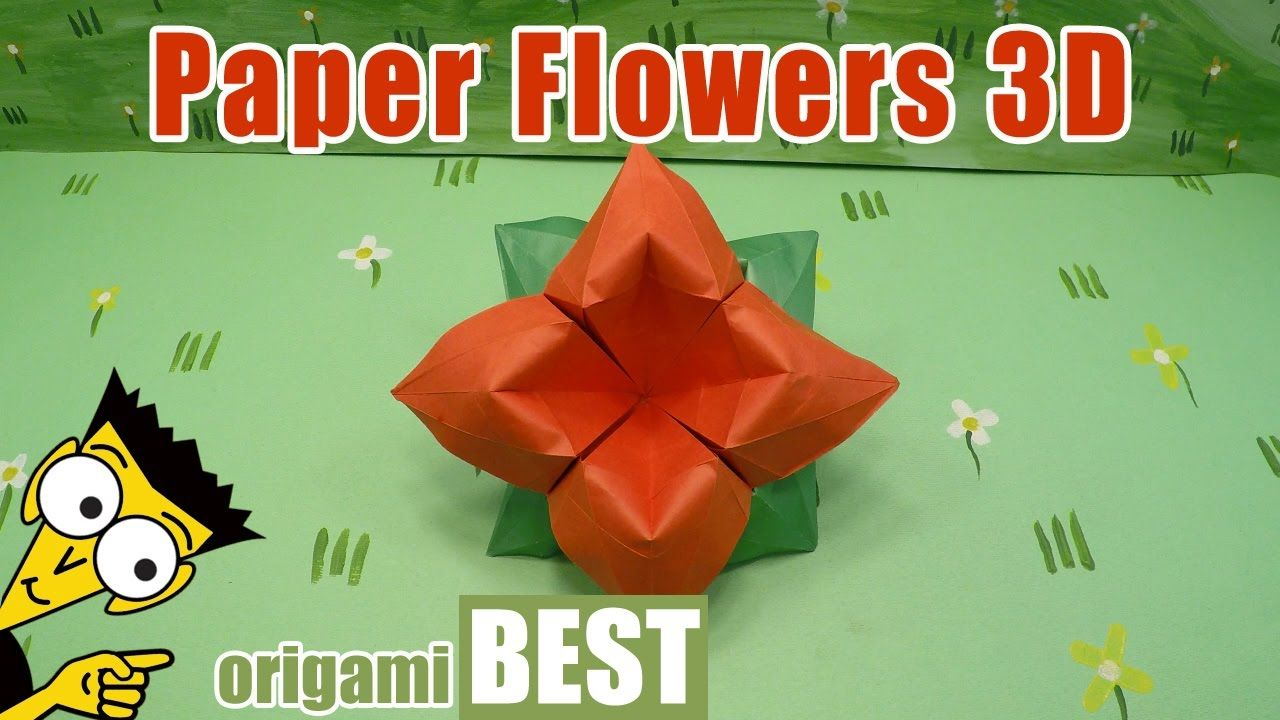 How To Make Paper Flowers Origami Best Origami Origamibest
