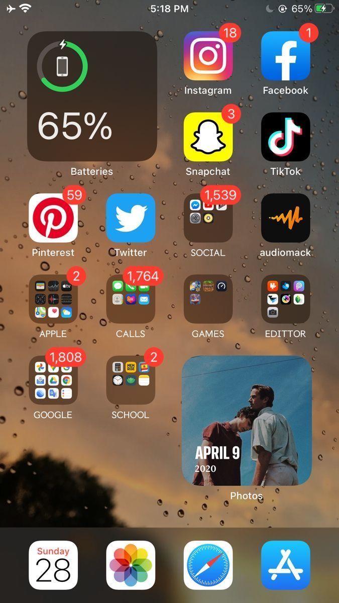"Нðˆðð""𝐄𝐑𝐄𝐒𝐓 Н‰ð""𝐈𝐂𝐘𝐘𝐂𝐋𝐎𝐔𝐓 In 2020 Iphone Organization Homescreen Iphone Application Iphone"