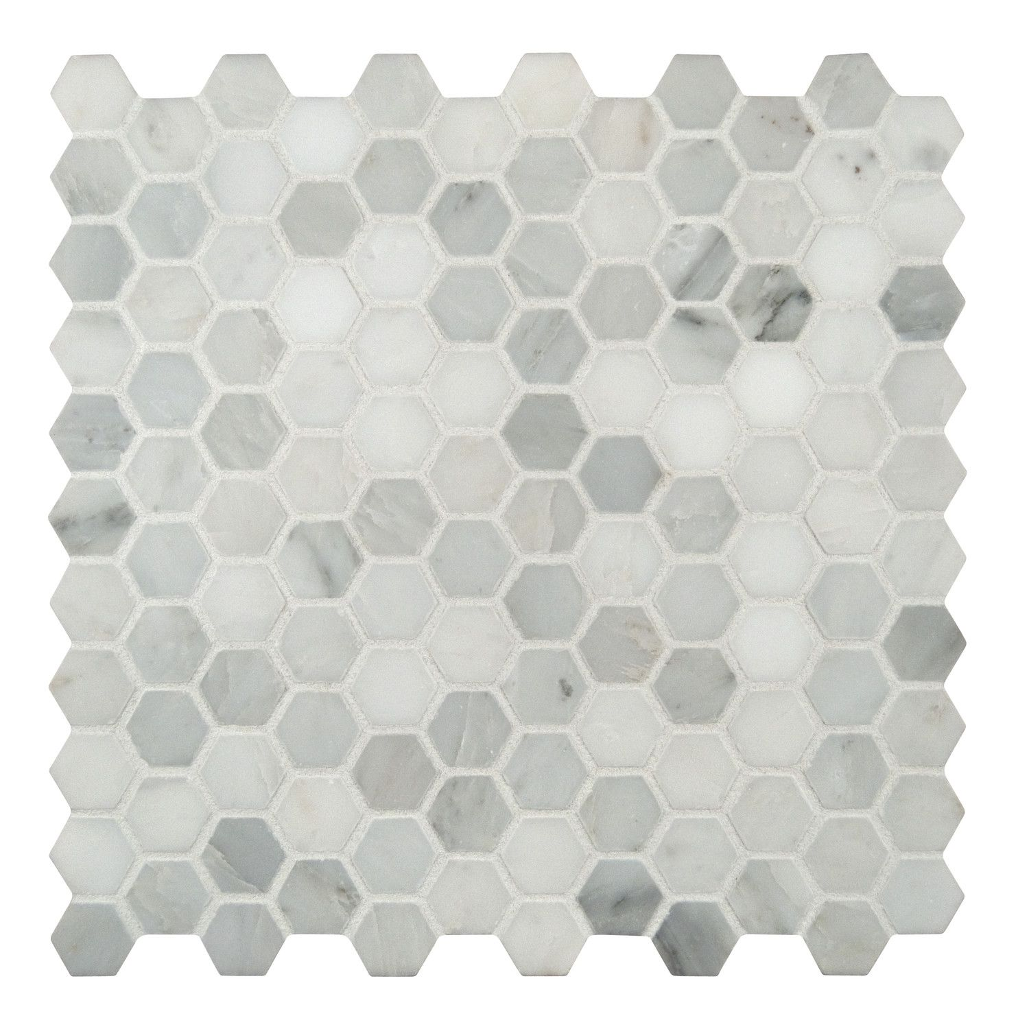 Ms international 1 x 1 marble honed mosaic tile in arabescato ms international 1 x 1 marble honed mosaic tile in arabescato carrara doublecrazyfo Gallery