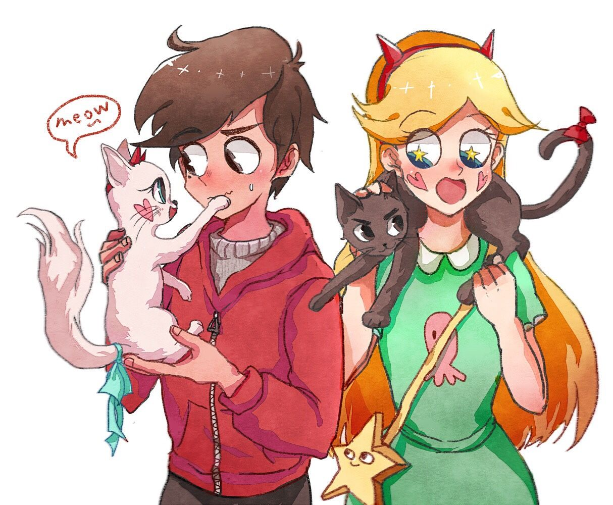 Who wants to draw ur svstfoe oc as a cat?! Star vs the