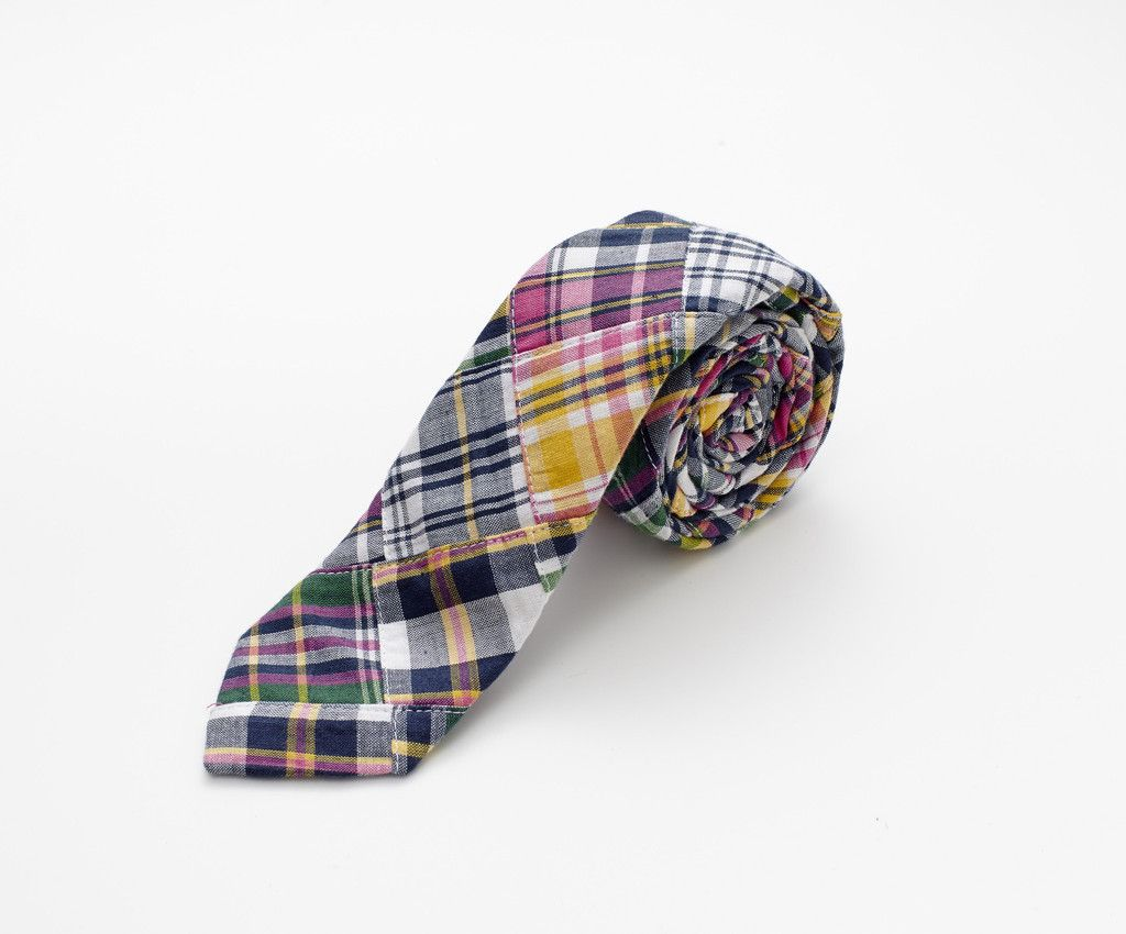 Breton Necktie | www.everettclothing.com - love this tie on men for the warm weather! #wearyourself