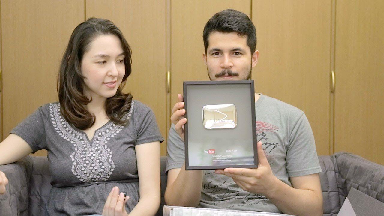 Botão de prata do Youtube 100 mil inscritos