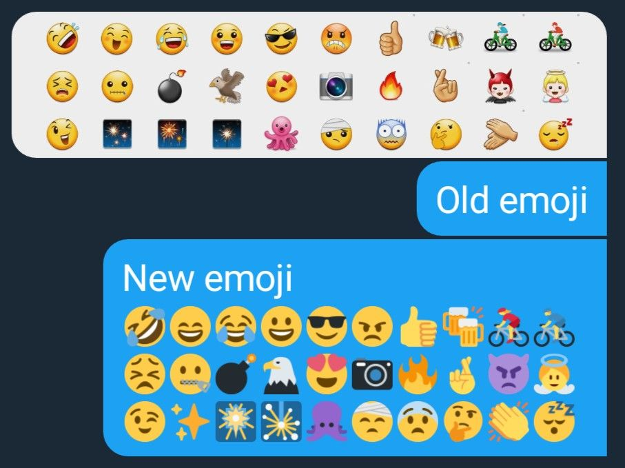 Hey Twitter Bring Back The Old Android Emojis Emoji Pictures Olds