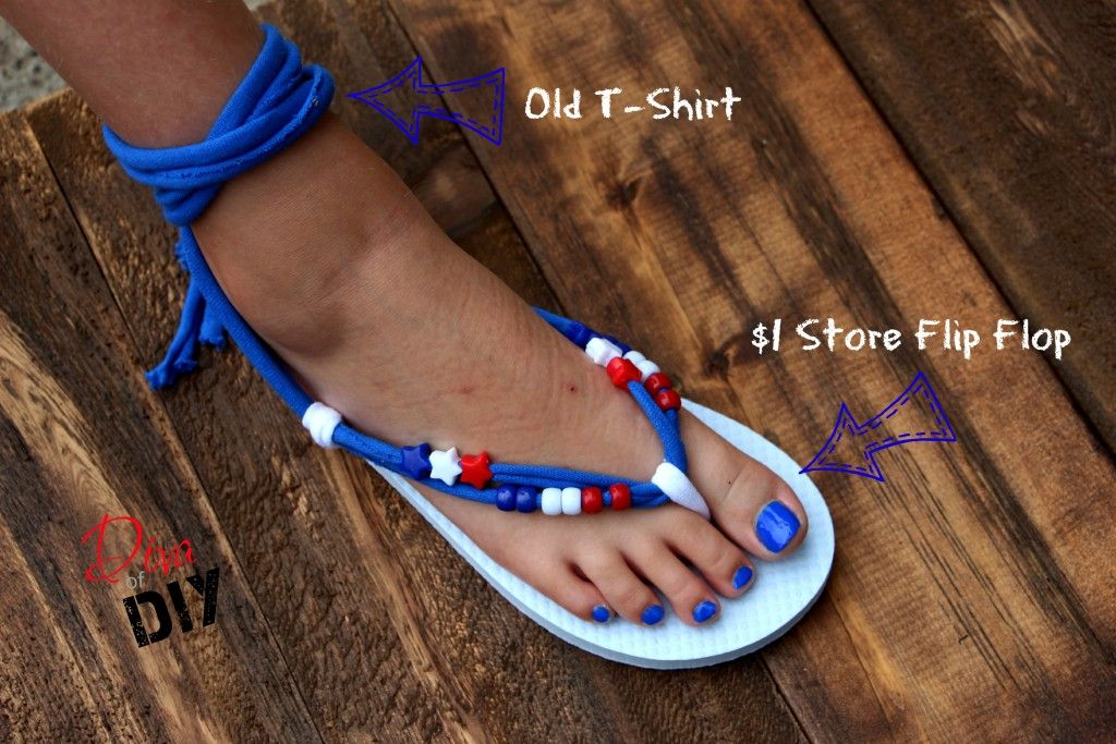 a3dcbff7ca730 Make Your Own Flip Flops (Gladiator Style)