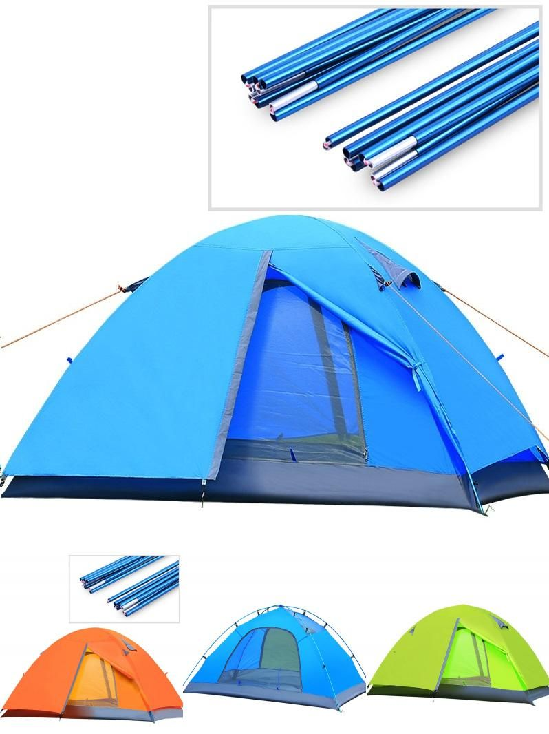 [Visit to Buy] Good quality double layer 2 person 4 season outdoor c&ing tent ultralight ice fishing tent winter tent gazebo sun shelter  sc 1 st  Pinterest & Visit to Buy] Good quality double layer 2 person 4 season outdoor ...