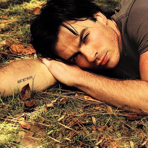 Ian Somerhalder Love His Tattoo Ian Somerhalder