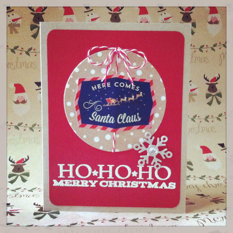 HO*HO*HO MERRY CHRISTMAS! | Cardwaii | Pinterest | Merry