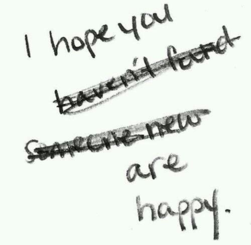 I Know You Ve Found Someone New Someone Better I Used To Hope