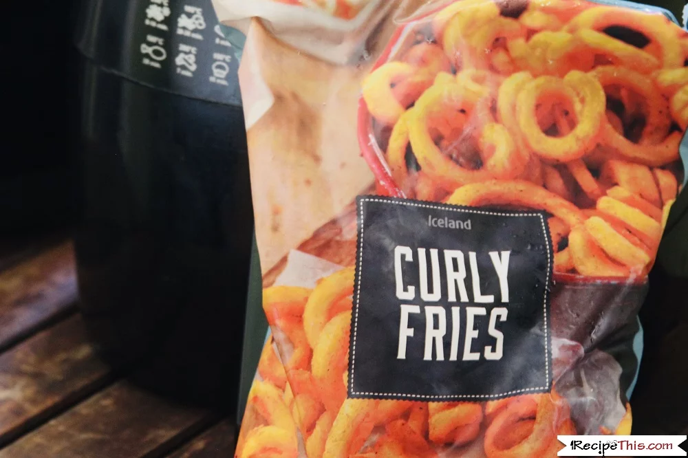 Air Fryer Frozen Curly Fries Recipe Curly fries, Fries