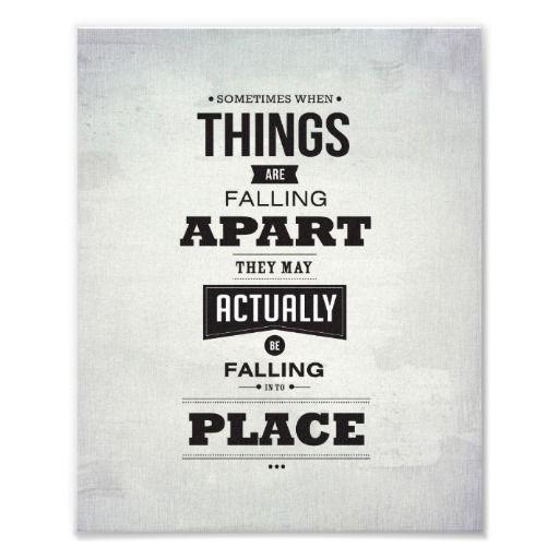 Things Fall Apart Sometimes
