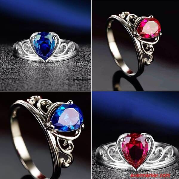 Want to Have This Elegant 925 Silvery Ring