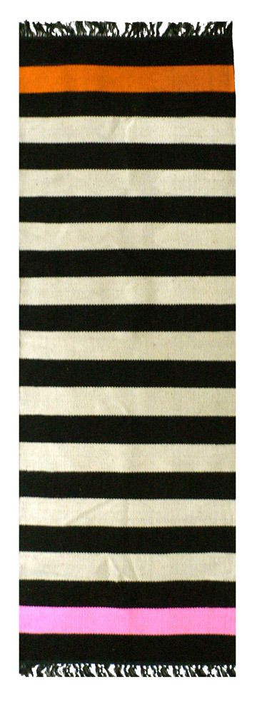 Love this striped runner from Amber Interiors.
