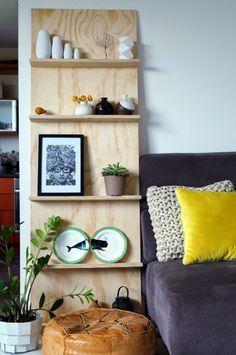 Déco-récup // 4 idées bricoleuses pour transformer une planche en bois en pièce design – DecouvrirDesign