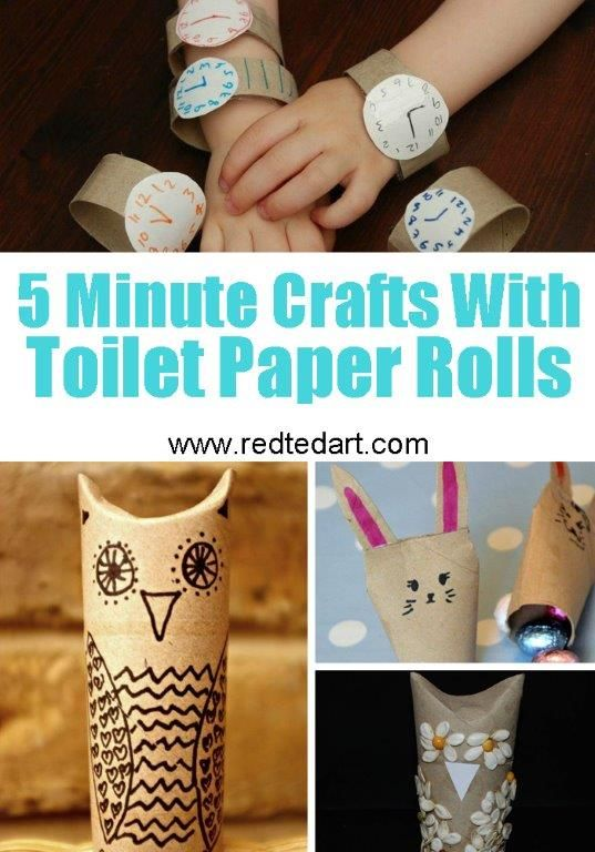 79 Easy Toilet Paper Roll Crafts The Kids Will Love To Make