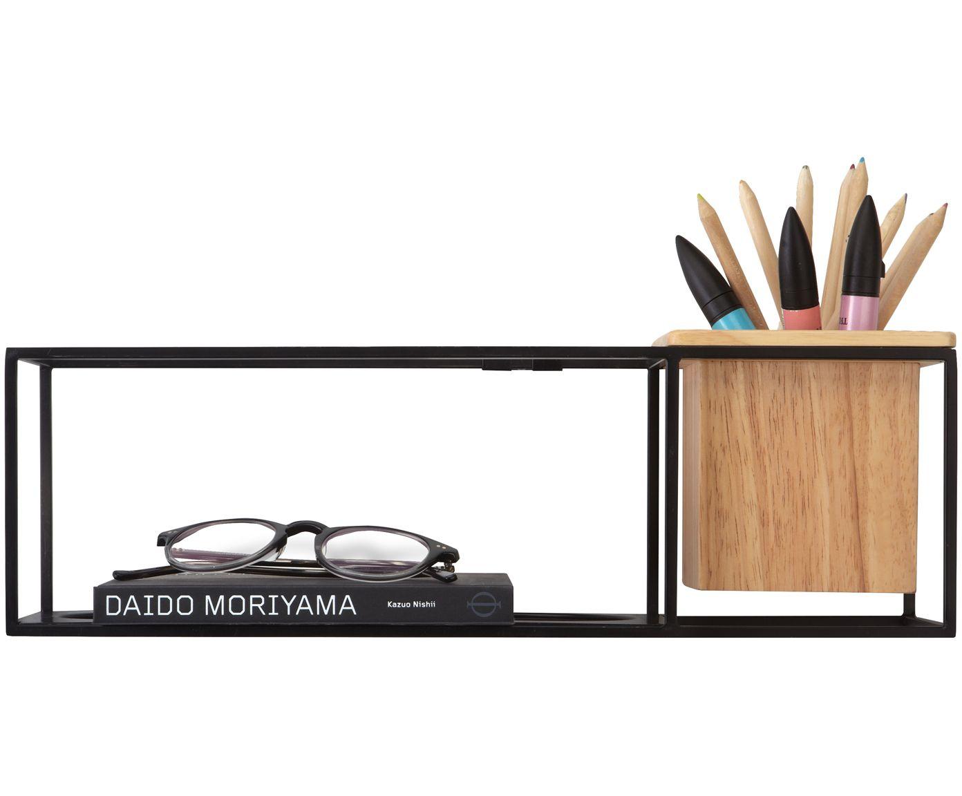 wand regal cubist w nde regal und schwarzer. Black Bedroom Furniture Sets. Home Design Ideas