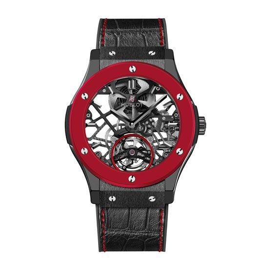 Horlogerie: montre Hublot Only Watch 2013 http://www.vogue.fr/joaillerie/a-voir/diaporama/horlogerie-only-watch-2013-vente-caritative-monaco-montres-roger-dubuis-van-cleef-arpels-piaget-chanel/15456/image/854692#!horlogerie-only-watch-2013-vente-caritative-monaco-montres-hublot