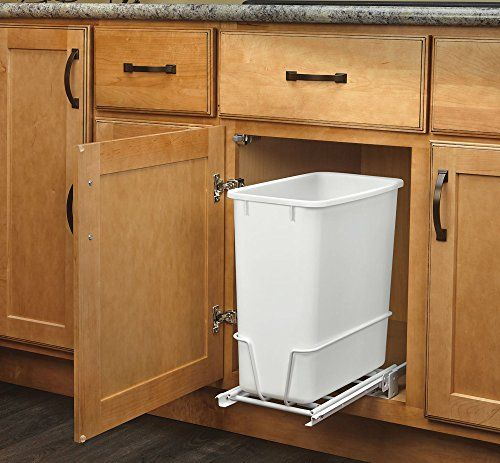 Rev-A-Shelf - RV-814PB - Single 20 Qt. Pull-Out White Was... http ...