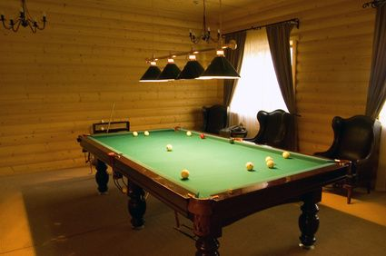 Neat Pool Table Lights